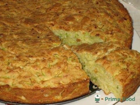 Кабачковый пирог рецепт с фото в духовке