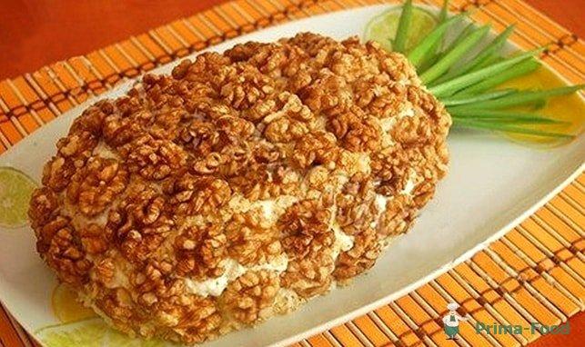 рецепт салата с ананасами и курицей фото