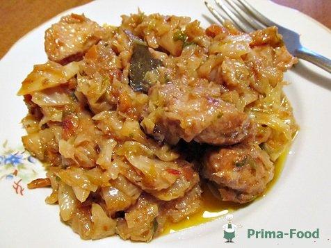 Бигус со свининой рецепт с фото