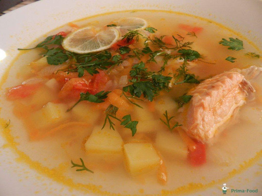 Рецепт ухи из красной рыбы пошагово с