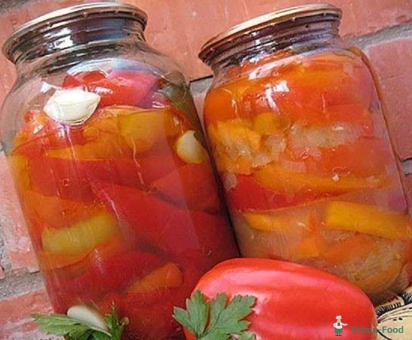 Салат из перца с чесноком на зиму рецепты