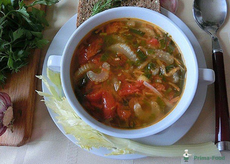 Суп С Сельдерей Для Похудения. Сельдереевый суп для похудения — правильные рецепты